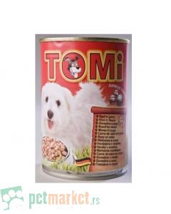 Tomi: Vlažna hrana za pse Govedina