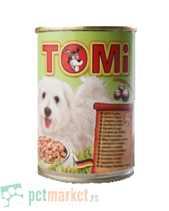 Tomi: Vlažna hrana za pse Jagnjetina