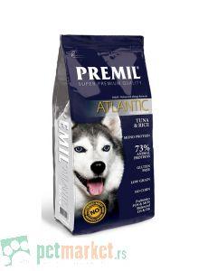 Premil: Hrana za osetljive pse Top Line Atlantic, 15kg