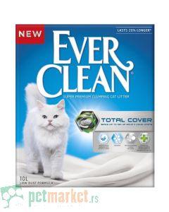 Ever Clean: Super Premium jako grudvajući posip za mačke Total Cover