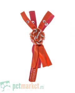 Rogz: Igračka za pse sa kanapom Cowboyz, narandžasta