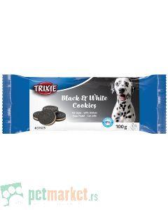 Trixie: Poslčastica za pse  Black & White Cookies, 100 gr