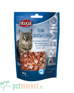 Trixie: Poslastica za mace sa tunjevinom Tuna Sandeiches, 50 g