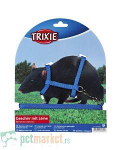 Trixie: Povodac i am za pacove i afričke tvorove plavi