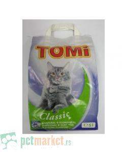 Tomi: Posip za mačke Classic, 5 l