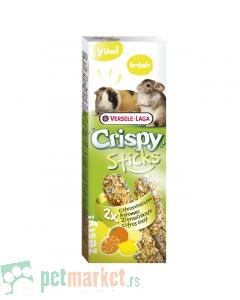 Crispy: Poslastica sa narandžom i limunom Sticks, 110 gr