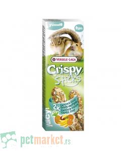 Crispy: Poslastica sa voćem Sticks, 110 gr