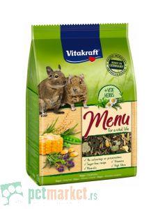 Vitakraft: Hrana za degue Menu, 600 gr