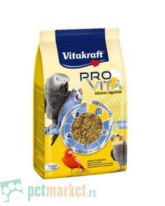 Vitakraft: Jajčana hrana za ptice Pro Vita, 750 gr