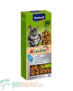 Vitakraft: Krekeri sa kalcijumom za činčile Calci Fit, 112 gr
