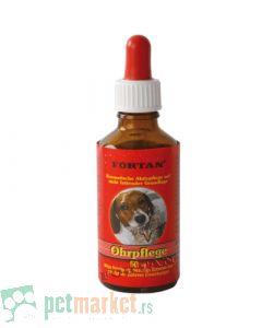 Fortan: Preparat za čišćenje i negu ušiju Ohrpflege, 50 ml