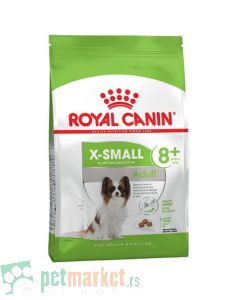 Royal Canin: Size Nutrition X Small Adult +8, 500 g