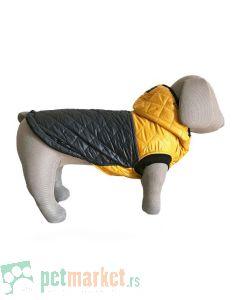 13th Dog: Jakna za pse Yellow Romb