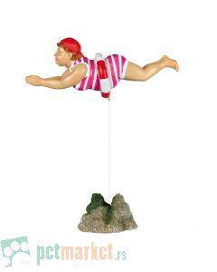 Trixie: Dekoracija Žena koja pliva