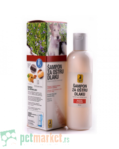 Nutripet: Šampon za oštru dlaku, 200 ml