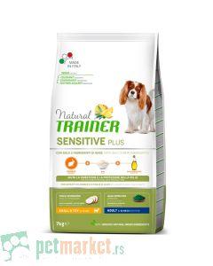 Trainer Sensitive: Hrana za odrasle pse malih rasa Adult Mini, Zečetina, 7 kg