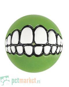 Rogz: Lopta sa zubima Grinz Ball, zelena