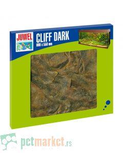 Juwel: Drkorativna 3D pozadina za akvarijum Cliff Dark