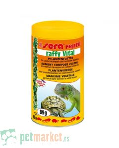 Sera: Hrana za kornjače i biljojedne guštere Raffy Vital, 250 ml
