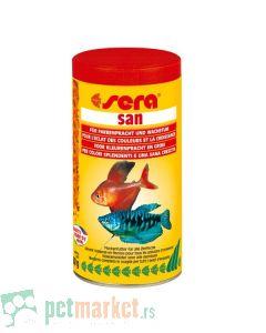 Sera: Hrana za tropske ribice San