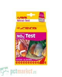 Sera: Test za nitrate NO3 Test