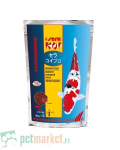 Sera:  Hrana za koi šarane Koi Professional Winter, 500 g