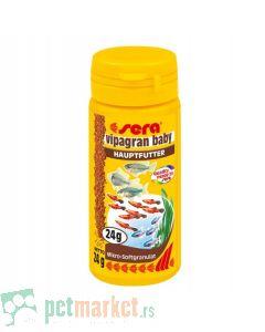 Sera:  Hrana za mlade ribice Vipagran Baby, 100 ml