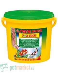 Sera: Hrana za ribice Pond Color Sticks