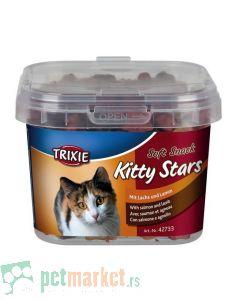 Trixie: Poslastice za mace Kitty Stars, 140 gr